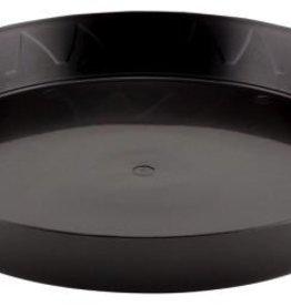 GRO PRO Gro Pro Black Saucer 10in