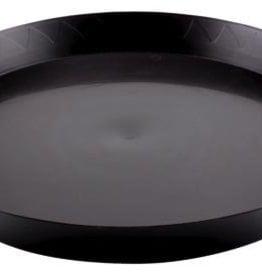 GRO PRO Gro Pro Black Saucer 18in