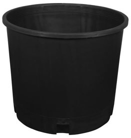 "GRO PRO The premium quality, injection molded, nursery pots are much thicker and durable than traditional ""blow molded"" nursery pots. These are the best quality pots on the market. Grip lip for easy movement. Made in the USA. <br />