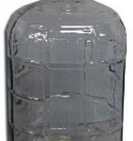 LD CARLSON The 6 gallon glass carboy is the ideal size carboy for secondary fermentation of wine. Most wine ingredient kits will make 6 gallons. Uses a #6.5 stopper or a universal carboy bung.