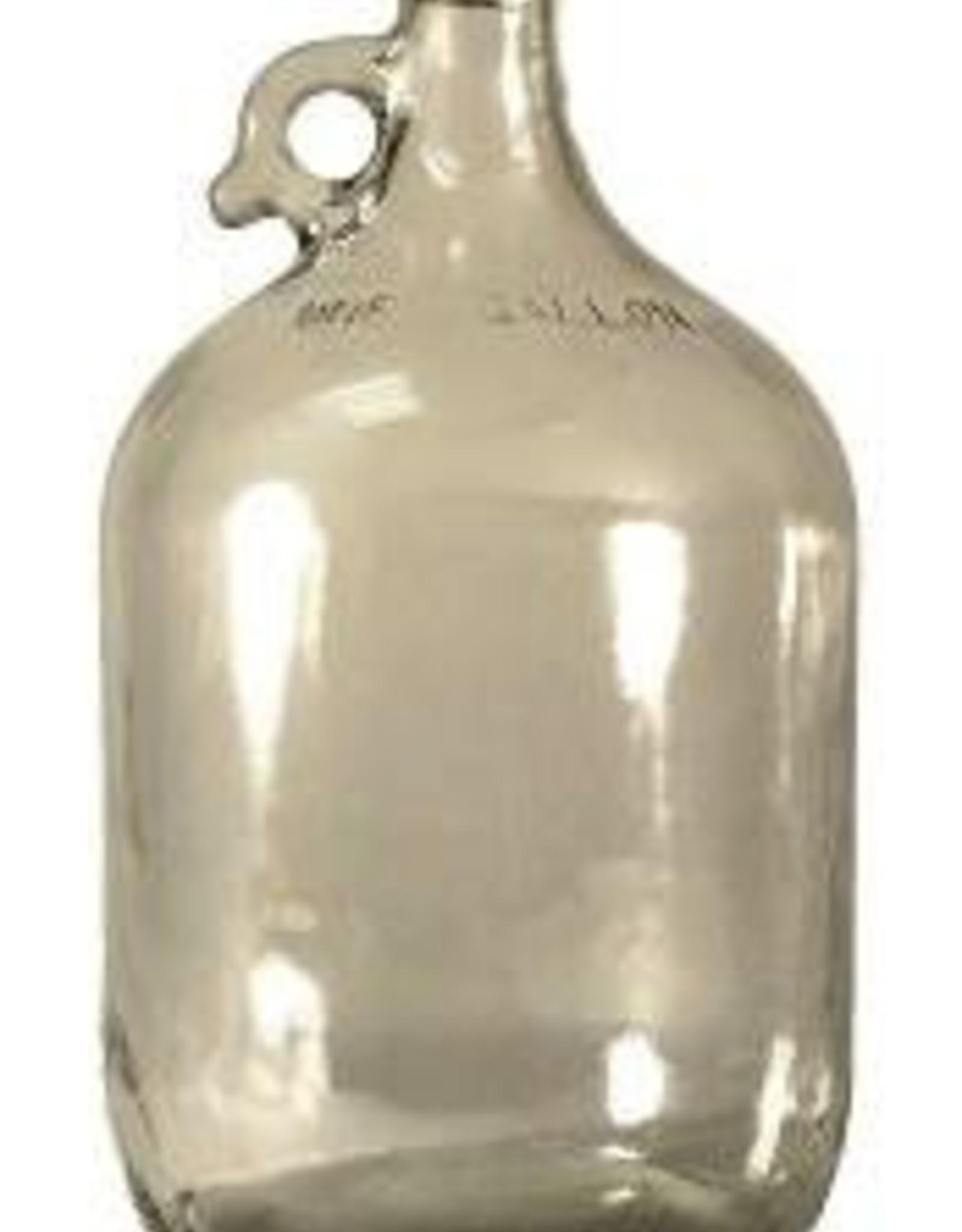 LD CARLSON 1 GALLON GLASS JUG / CARBOY- CASE OF 4