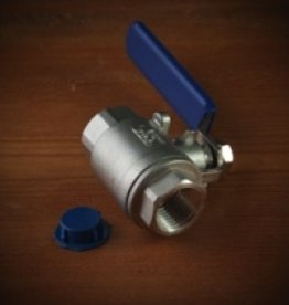 CROSBY & BAKER Full Port Ball Valve 0.5″