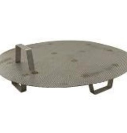 LD CARLSON STAINLESS STEEL FALSE BOTTOM W/ LEGS FOR 16 GAL POTS/KETTLES