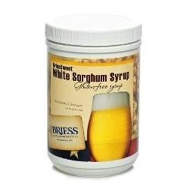BRIESS BRIESSWEET WHITE SORGHUM SYRUP 45 HM CANISTER 3.3 LB.