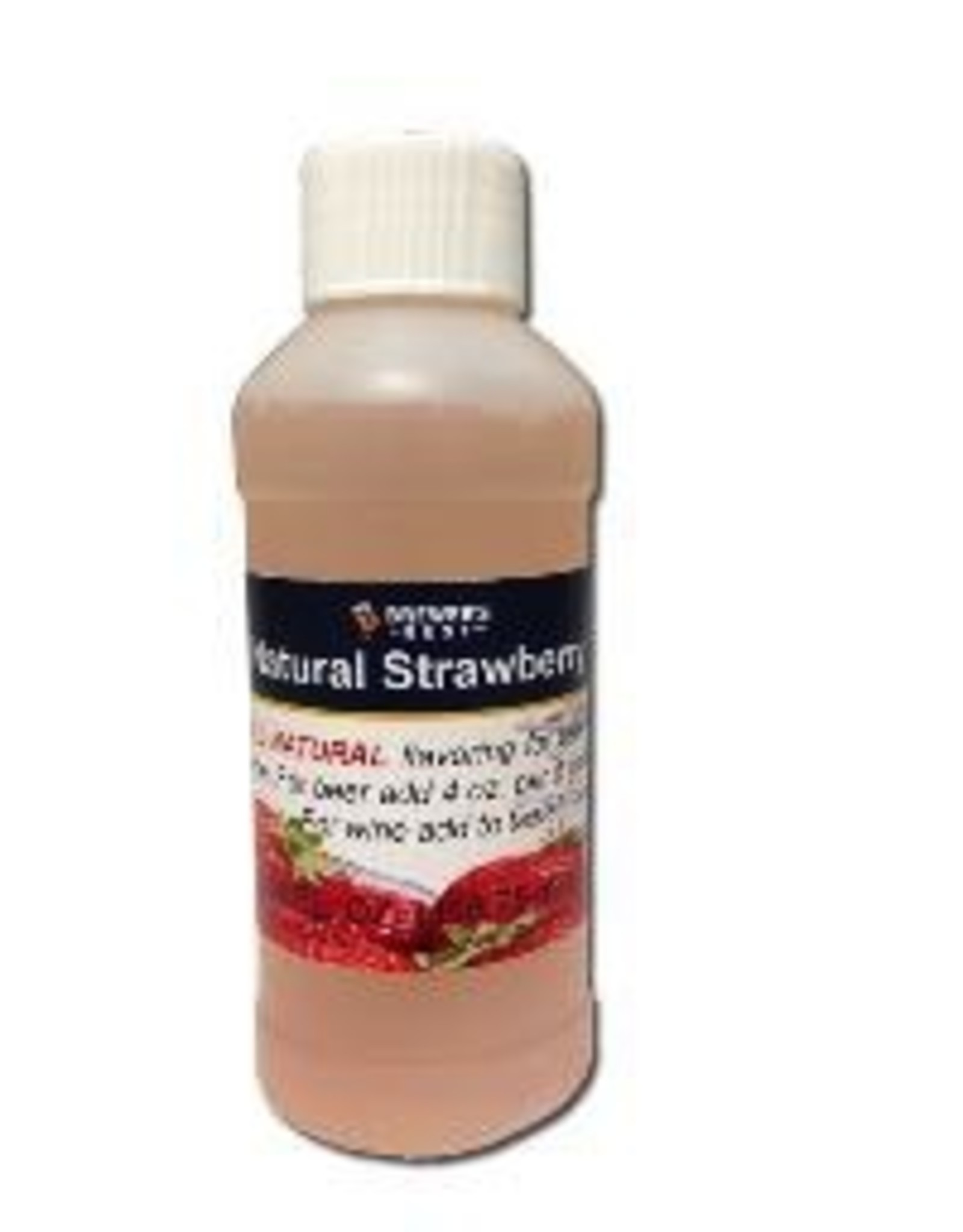 BREWERS BEST NATURAL STRAWBERRY FLAVORING EXTRACT 4 OZ