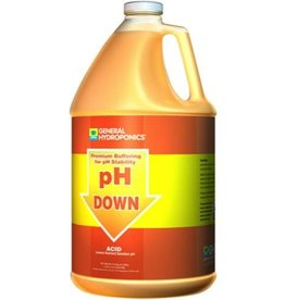 GENERAL HYDROPONICS GH pH Down Liquid 1 Gallon