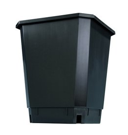 MAXI POT Maxipot Black 9.6 in x 9.6 in x 11.5 in