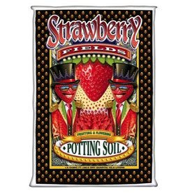 FOX FARM Strawberry Fields™ Fruiting & Flowering Potting Soil is brought to you directly from the flower children of the sixties and seventies—the old school generation. Love, Peace and Happiness is in our hearts and that is exactly what we pour into every bag of
