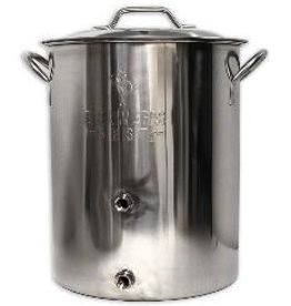 BREWERS BEST 16 GALLON BREWER'S BEST BASIC BREWING KETTLE W/ TWO PORTS
