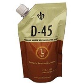 SIMPLICITY D45 BELGIAN CANDI SYRUP (45 LOVIBOND) 1 LB POUCH