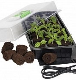 jump start Jump Start 24-Cell Grow Plug Mini Germination Station w/Heat Mat