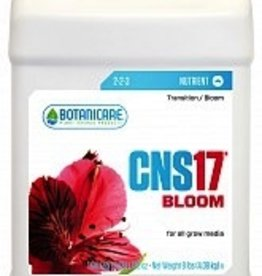 CNS17® Bloom is extremely concentrated, cost effective and produces premium results. The NPK ratio in CNS17® Bloom was designed to provide specific critical elements to support heavily fruiting and flowering crops, which allows phosphorus and potassium le