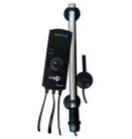ECOPLUS Heater tube is fully submersible. Automatic electronic heater. Double heating tube. Very durable and reliable. Easy temperature control. Ideal for saltwater and freshwater. Temp range: 68°F (20°C) to 93°F (34°C).