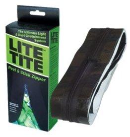 TARPLINE Lite Tite Heavy Duty Peel & Stick Zipper