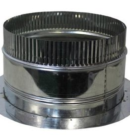 IDEAL-AIR Ideal-Air Duct Collar Air Tight 4 in<br />  CLOSE OUT