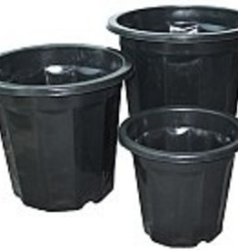 HYDROFARM BLACK PLANTER 3 QT