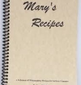 LD CARLSON MARY'S RECIPES