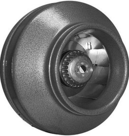 ATMOSPHERE These high performance inline fans feature superior steel construction with powder coated baked paint and convenient North-American sizes from 4 to 12 inches. Speed controllable and balanced motors with permanently lubricated ball bearings ensure vibratio
