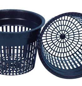 GRO PRO Excellent quality net pots are thicker and more heavy-duty than most on the market.   They offer a wider rim for better support.  Smaller mesh allows the grower to use virtually all types of grow media.