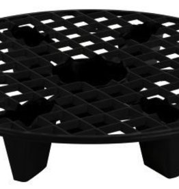 GRO PRO Gro Pro® NX Level™ Plant Elevation Platforms are specially designed to help raise your fabric or plastic pot out of the bottom of a saucer. This elevates the pot out of potential excess water that gathers in the saucers. This can be crucial in preventing