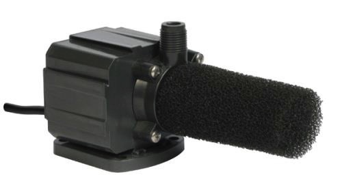 DANNER MANUFACTURING, INC. These high quality pumps operates submerged or in-line. 10 foot grounded power cord. 1/2 in NPT. Ceramic shaft. Foam pre-filter included.