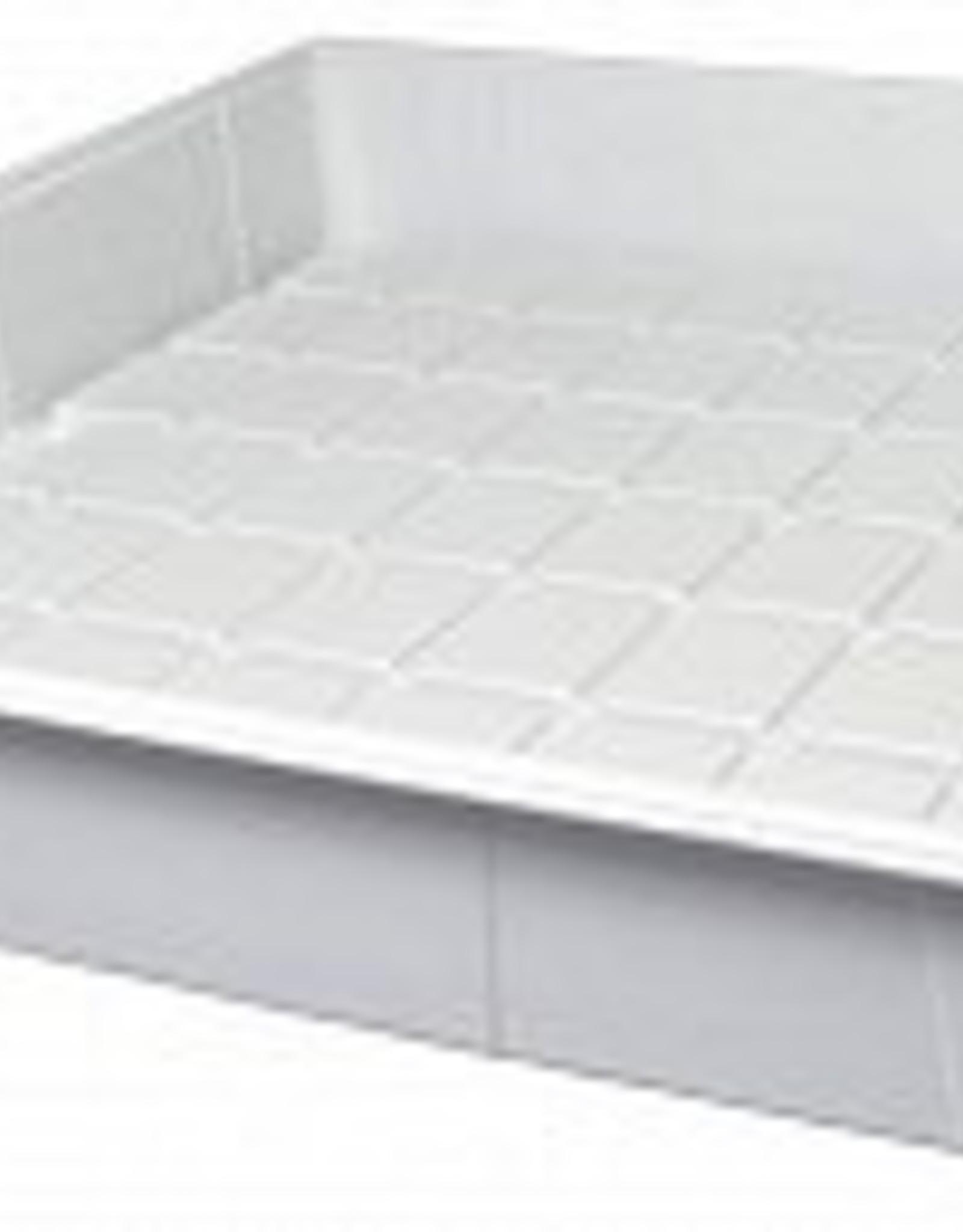 Active Aqua Premium White Flood Table, 4' x 4'