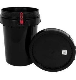 Harvest Keeper Harvest Keeper Odor Lock 12 Gal Black Bucket w/ Lid