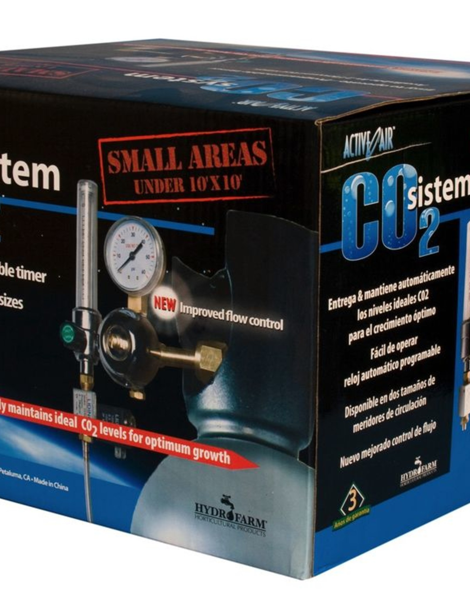 ACTIVE AIR Hydrofarm CO2 System (.2-2 cubic feet pe)