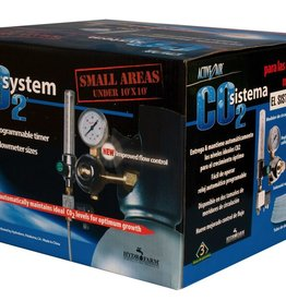 ACTIVE AIR Hydrofarm CO2 System (.2-2 cubic feet per hour) with Timer