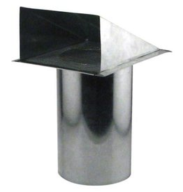 IDEAL-AIR Ideal-Air Screened Wall Vent 6 in