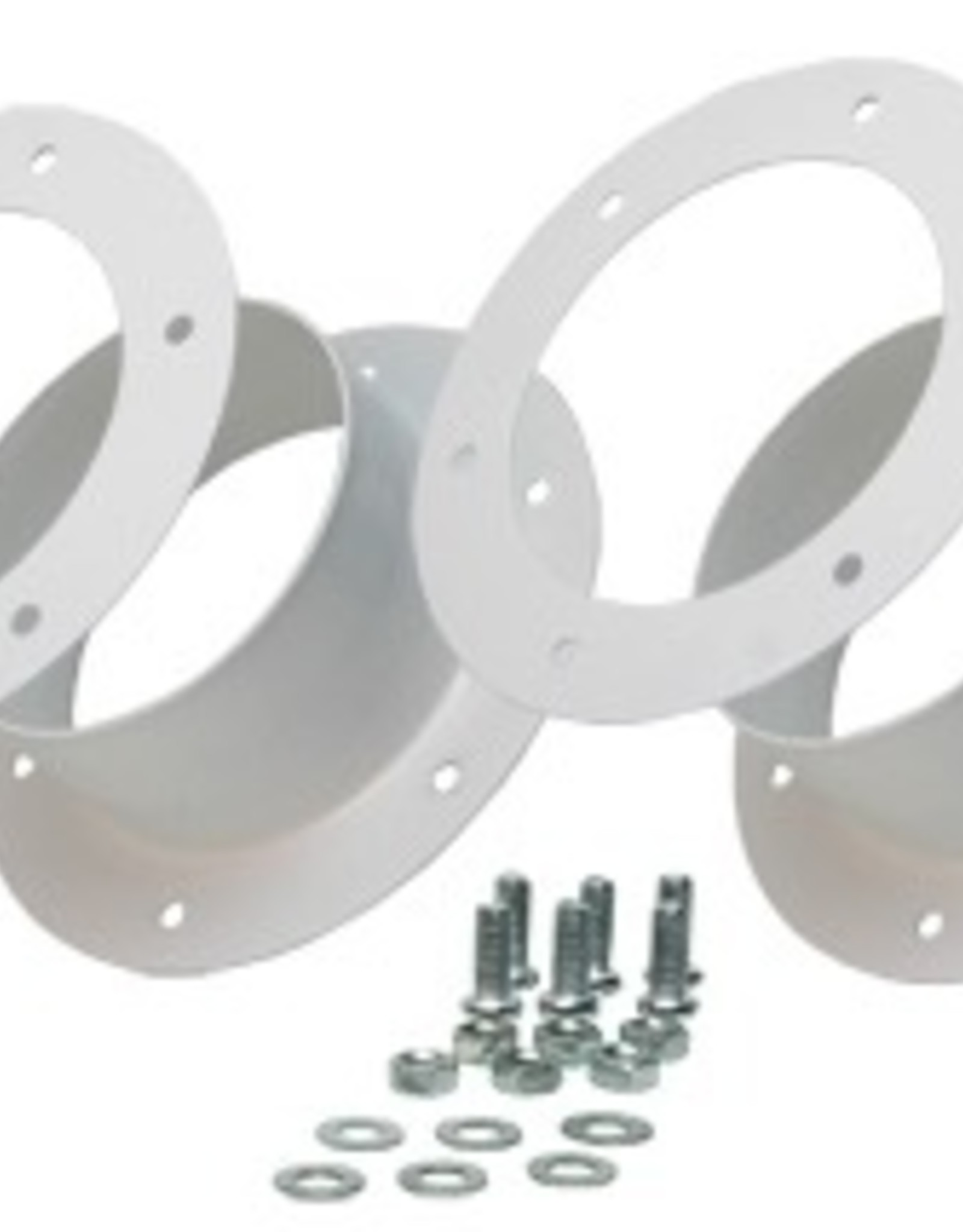 "ACTIVE AIR Dual 6"" Flange Kit"