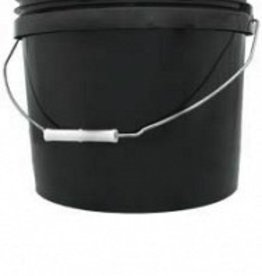 SUNLIGHT SUPPLY 3 gallon black bucket. Buckets can be the true building blocks of your indoor hydroponics setup or outdoor garden. They're an ideal way to transport media, water, and other nutrients, as well as a collection receptacle for all your other accessories. From
