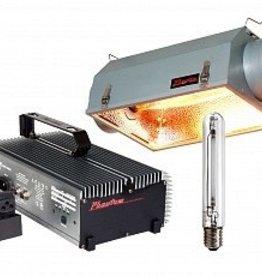 HYDROFARM Phantom PHE750DS Ballast, Phantom PHR6010 Reflector, and HPS Lamp Kit