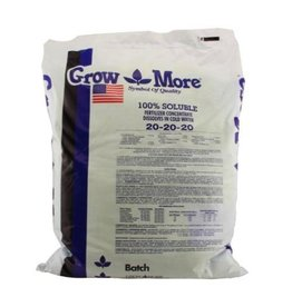 GROW MORE Grow More Water Soluble (20-20-20) 5 lb