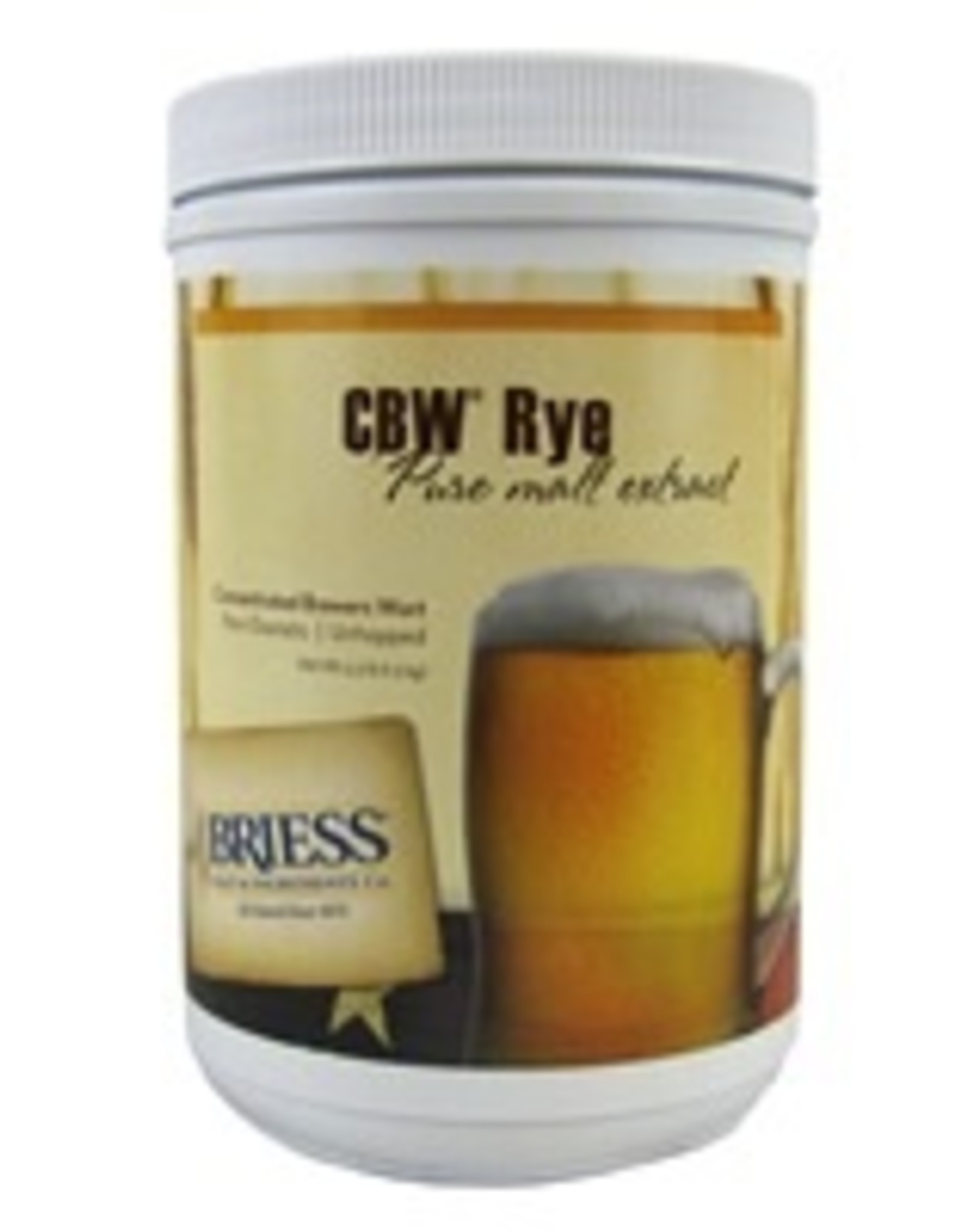 BRIESS BRIESS RYE CANISTER 3.3 LB