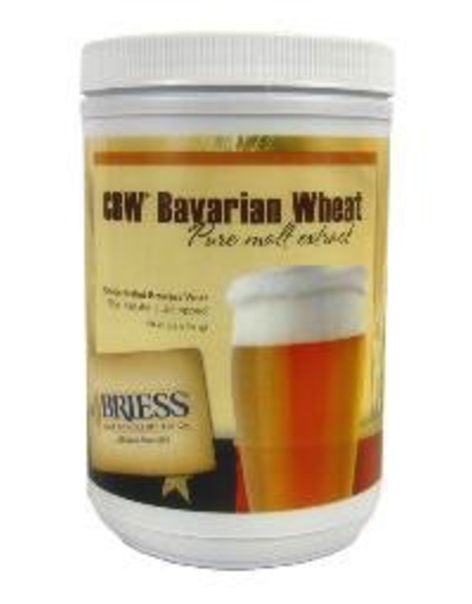 BRIESS BRIESS BAVARIAN WHEAT CANISTER 3.3 LB