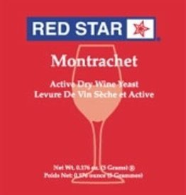 RED STAR MONTRACHET RED STAR ACTIVE FREEZE-DRIED WINE YEAST