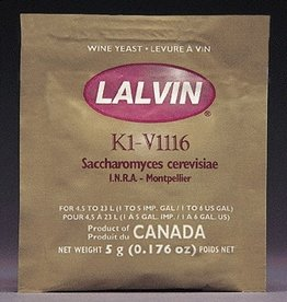 LALVIN K1V-1116 LALVIN ACTIVE FREEZE- DRIED WINE YEAST