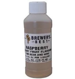 BREWERS BEST RASPBERRY FLAVORING EXTRACT 4 OZ NATURAL/ARTIFICIAL FLAVORS