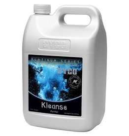 CYCO Cyco Kleanse is a salt clearing agent that is formulated to solubilize most micronutrients, cationic nutrients or metals in a growing environment. Utilize Kleanse during the growth and bloom period to clean the root system from accumulated mineral salts.