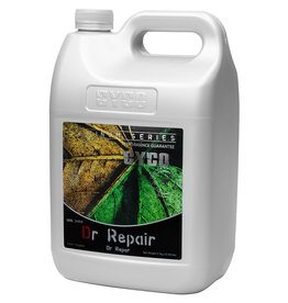 CYCO Cyco Dr. Repair (3-0-0) treats the yellowing of leaf tissue due to a lack of chlorophyll, known as chlorosis. Possible causes of chlorosis include poor drainage, damaged or compacted roots, high alkalinity, and deficiencies of iron and other nutrients in