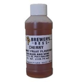 BREWERS BEST CHERRY FLAVORING EXTRACT 4 OZ NATURAL/ARTIFICIAL FLAVORS