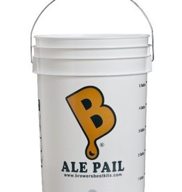 "BREWERS BEST ""ALE PAIL"" 6.5 GALLON BOTTLING BUCKET WITH 1"" HOLE"