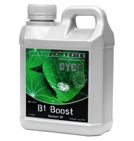 "CYCO Cyco B1 Boost helps to stimulate the growth of roots at any time in a plant's life cycle. B1 Boost is seen as an ""insurance policy,"" as it is difficult to determine if an underperforming plant is capable of producing B1 in sufficient amounts. The phosphor"