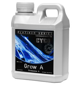 CYCO Cyco Grow A and B give support to a plant's natural growth by supplying a range of macro and micro nutrients, which are needed to give a plant the best possible start in its early development. Calcium, iron, manganese, copper, sodium and zinc are just a f