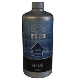 CYCO CYCO pH Up and pH Down ensure the optimum range of pH in nutrient solutions and improve nutrient availability to plants. Derived from potassium hydroxide and made with 36 percent soluble potash, CYCO pH Up raises the total pH value of a nutrient solution.