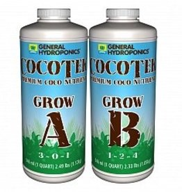 GENERAL HYDROPONICS GH CocoTek Grow A+B, 1 qt
