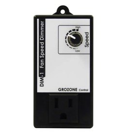 GROZONE Grozone Control DIM1 Fan Speed Dimmer w/ Optional Kick Start