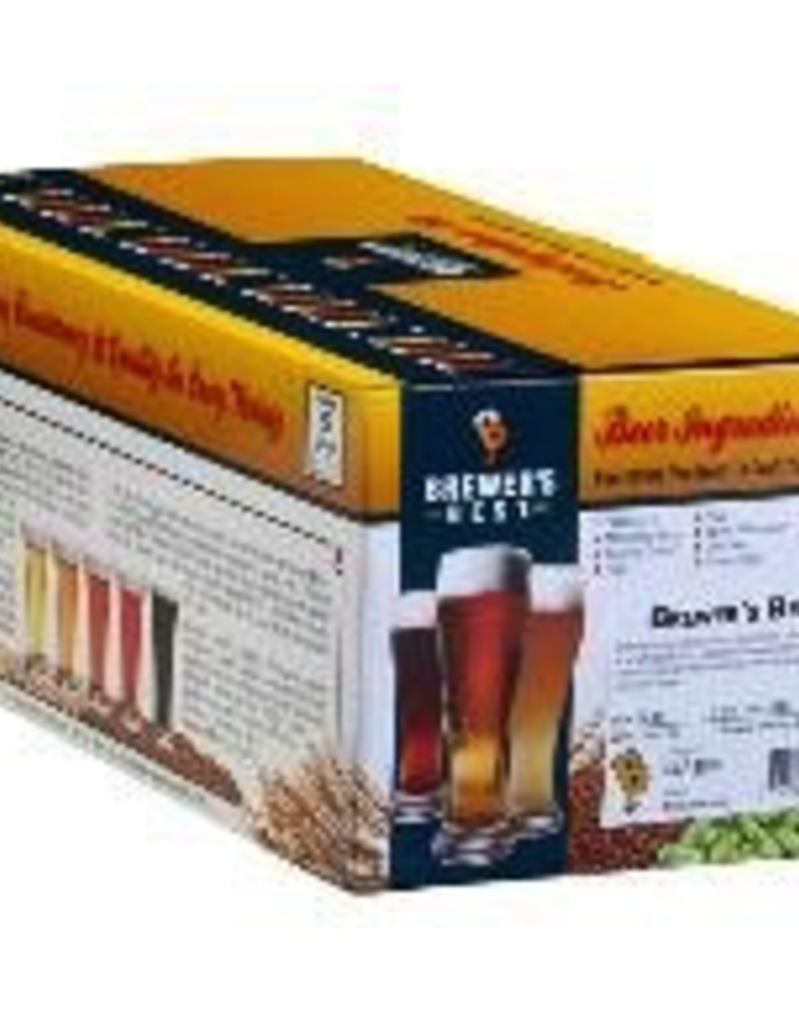 BREWERS BEST AMERICAN AMBER INGREDIENT KIT