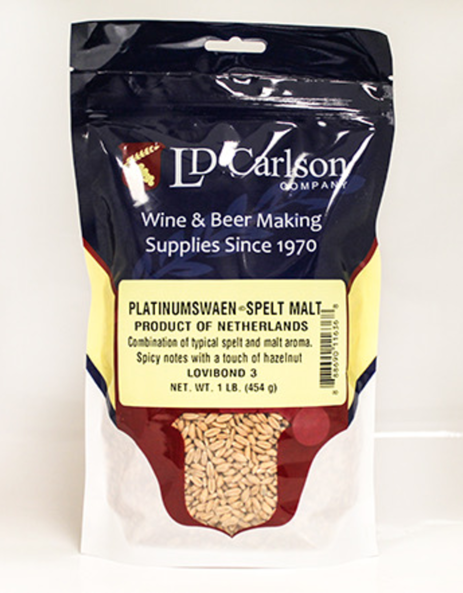 PLATINUMSWAEN Combination of typical spelt and malt aromas. Nice spicy notes with a touch of hazelnut.